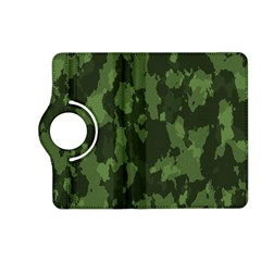 Camouflage Green Army Texture Kindle Fire HD (2013) Flip 360 Case