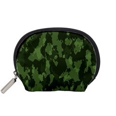 Camouflage Green Army Texture Accessory Pouches (Small)