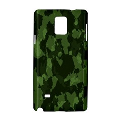 Camouflage Green Army Texture Samsung Galaxy Note 4 Hardshell Case