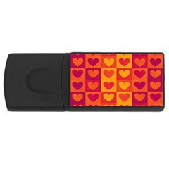 Pattern USB Flash Drive Rectangular (2 GB)