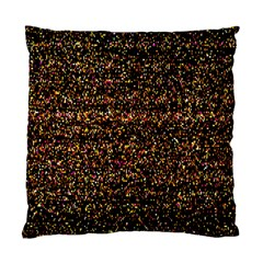 Pixel Pattern Colorful And Glowing Pixelated Standard Cushion Case (one Side)