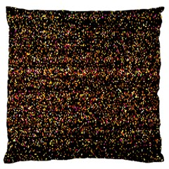 Pixel Pattern Colorful And Glowing Pixelated Large Cushion Case (two Sides)