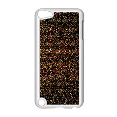 Pixel Pattern Colorful And Glowing Pixelated Apple iPod Touch 5 Case (White)