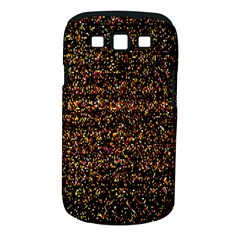 Pixel Pattern Colorful And Glowing Pixelated Samsung Galaxy S III Classic Hardshell Case (PC+Silicone)