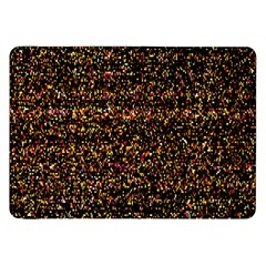 Pixel Pattern Colorful And Glowing Pixelated Samsung Galaxy Tab 8.9  P7300 Flip Case