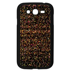 Pixel Pattern Colorful And Glowing Pixelated Samsung Galaxy Grand Duos I9082 Case (black)