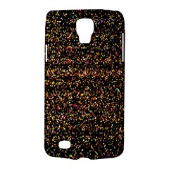 Pixel Pattern Colorful And Glowing Pixelated Galaxy S4 Active