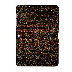 Pixel Pattern Colorful And Glowing Pixelated Samsung Galaxy Tab 2 (10 1 ) P5100 Hardshell Case