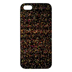 Pixel Pattern Colorful And Glowing Pixelated Iphone 5s/ Se Premium Hardshell Case