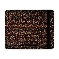 Pixel Pattern Colorful And Glowing Pixelated Samsung Galaxy Tab Pro 8.4  Flip Case