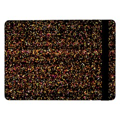 Pixel Pattern Colorful And Glowing Pixelated Samsung Galaxy Tab Pro 12.2  Flip Case
