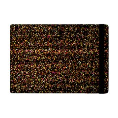 Pixel Pattern Colorful And Glowing Pixelated iPad Mini 2 Flip Cases