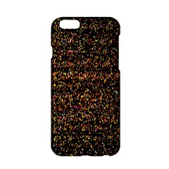 Pixel Pattern Colorful And Glowing Pixelated Apple iPhone 6/6S Hardshell Case