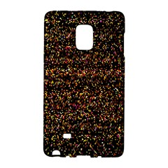 Pixel Pattern Colorful And Glowing Pixelated Galaxy Note Edge