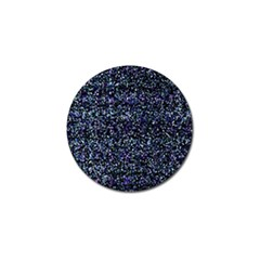 Pixel Colorful And Glowing Pixelated Pattern Golf Ball Marker (4 pack)