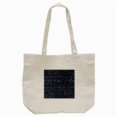 Pixel Colorful And Glowing Pixelated Pattern Tote Bag (Cream)