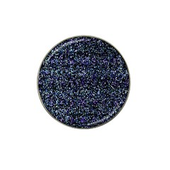 Pixel Colorful And Glowing Pixelated Pattern Hat Clip Ball Marker (10 pack)