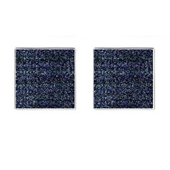 Pixel Colorful And Glowing Pixelated Pattern Cufflinks (square)