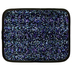 Pixel Colorful And Glowing Pixelated Pattern Netbook Case (xxl)