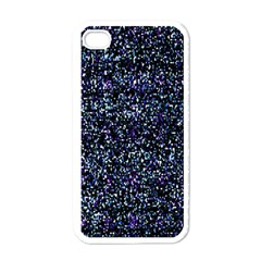 Pixel Colorful And Glowing Pixelated Pattern Apple Iphone 4 Case (white)