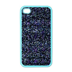Pixel Colorful And Glowing Pixelated Pattern Apple iPhone 4 Case (Color)