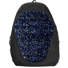 Pixel Colorful And Glowing Pixelated Pattern Backpack Bag