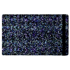 Pixel Colorful And Glowing Pixelated Pattern Apple iPad 3/4 Flip Case