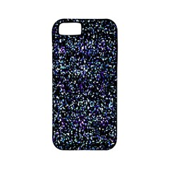 Pixel Colorful And Glowing Pixelated Pattern Apple Iphone 5 Classic Hardshell Case (pc+silicone)