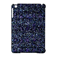 Pixel Colorful And Glowing Pixelated Pattern Apple iPad Mini Hardshell Case (Compatible with Smart Cover)
