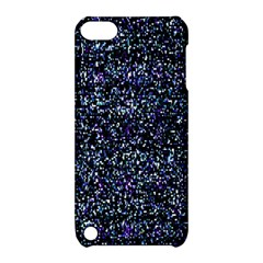 Pixel Colorful And Glowing Pixelated Pattern Apple Ipod Touch 5 Hardshell Case With Stand