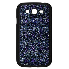 Pixel Colorful And Glowing Pixelated Pattern Samsung Galaxy Grand DUOS I9082 Case (Black)
