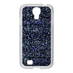 Pixel Colorful And Glowing Pixelated Pattern Samsung GALAXY S4 I9500/ I9505 Case (White)