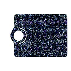 Pixel Colorful And Glowing Pixelated Pattern Kindle Fire HD (2013) Flip 360 Case