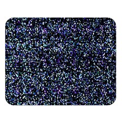 Pixel Colorful And Glowing Pixelated Pattern Double Sided Flano Blanket (Large)