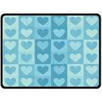 Pattern Double Sided Fleece Blanket (Large)  80 x60 Blanket Back