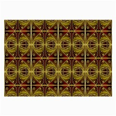Seamless Symmetry Pattern Large Glasses Cloth (2 Side)