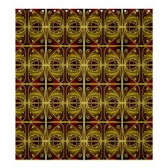 Seamless Symmetry Pattern Shower Curtain 66  X 72  (large)