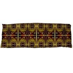 Seamless Symmetry Pattern Body Pillow Case (Dakimakura)
