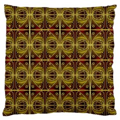 Seamless Symmetry Pattern Large Cushion Case (two Sides)