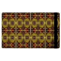 Seamless Symmetry Pattern Apple iPad 2 Flip Case