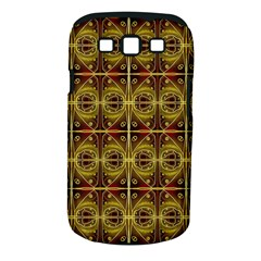 Seamless Symmetry Pattern Samsung Galaxy S III Classic Hardshell Case (PC+Silicone)