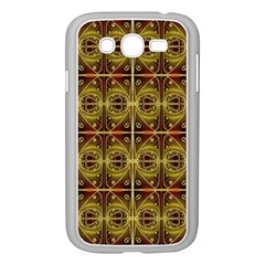 Seamless Symmetry Pattern Samsung Galaxy Grand Duos I9082 Case (white)