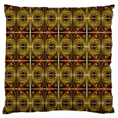 Seamless Symmetry Pattern Large Flano Cushion Case (Two Sides)