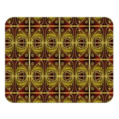 Seamless Symmetry Pattern Double Sided Flano Blanket (Large)