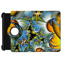 Fractal Background With Abstract Streak Shape Kindle Fire HD 7