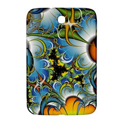 Fractal Background With Abstract Streak Shape Samsung Galaxy Note 8.0 N5100 Hardshell Case