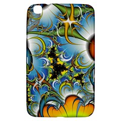 Fractal Background With Abstract Streak Shape Samsung Galaxy Tab 3 (8 ) T3100 Hardshell Case