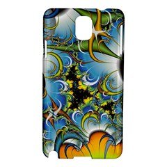 Fractal Background With Abstract Streak Shape Samsung Galaxy Note 3 N9005 Hardshell Case