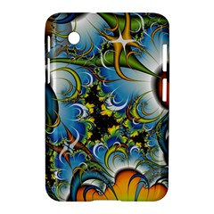 Fractal Background With Abstract Streak Shape Samsung Galaxy Tab 2 (7 ) P3100 Hardshell Case