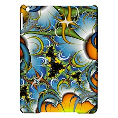 Fractal Background With Abstract Streak Shape iPad Air Hardshell Cases